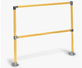4' Starter Safety Railing 2 Rail System