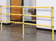 Handrail Safety Railing - 3 Rail System
