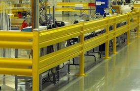 Warehouse Safety Guardrail
