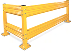 Warehouse Safety Guard Rail